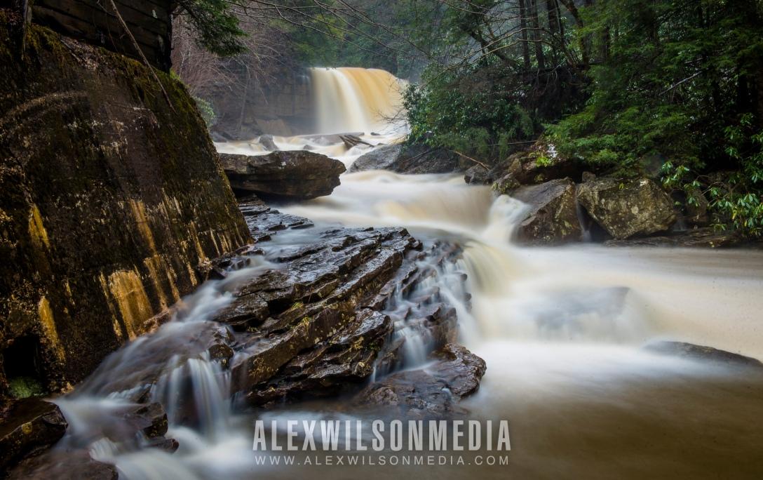 Douglas Falls near Thomas, WV. (photo © J. Alex Wilson)